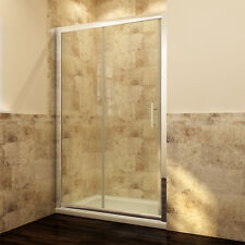 Sliding Shower Door Enclosure 6mm Walk in Glass Screen Next Day Delivery 1600mm