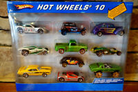 Hot Wheels 10 Vehicle Gift Pack Diecast Car Corvette Chevy Truck VW and Others