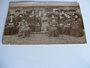 c1900  Original  Photograph  Postcard  Of  A Ladies Gathering Norwich, Norfolk ?