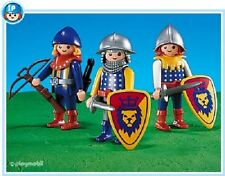 Playmobil 7768 Knights 3 king knights mint in Bag NEW add on series 144