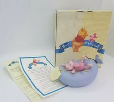 Disney Pooh & Friends Piglet Figurine 'Oh D-D-Dear' A5389 With Box