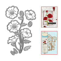 Useful Remembrance Flower Metal Cutting Dies Stencil DIY Scrapbooking Card Paper