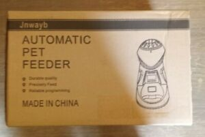 Automatic Cat & Dog Feeder. 99 Portion Sizes. Up To 6x A Day. Microphone. NIB