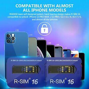 R-SIM16 Nano Unlock RSIM Card For iPhone 12 11 Pro XS MAX XR X 8 7 6S iOS14 UK