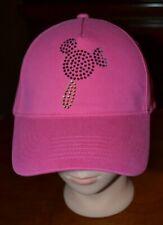 Disney Mickey Mouse Ice Cream Bar Treat Pink Baseball Cap Hat Adult New