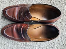 Allen Edmonds Randolph Loafers Brown Shell Cordovan Leather USA Size 10 D