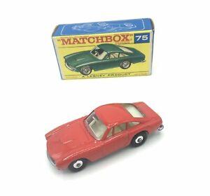 Matchbox Regular 75b Ferrari Berlinetta Rare Red Transitional Model