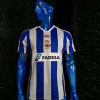 Deportivo La Coruna Jersey Home football shirt 2007-2008 Canterbury Mens Size M