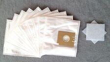 10 Staubsaugerbeutel für Menalux 1803, Staubbeutel Filtertüten + 2 Filter