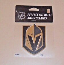 LAS VEGAS GOLDEN KNIGHTS 4 X 4 DIE-CUT DECAL OFFICIALLY LICENSED PRODUCT