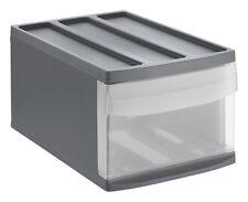 Rotho Schubladenbox Systemix M Anthrazit Ablage Büro   Einbauschrank