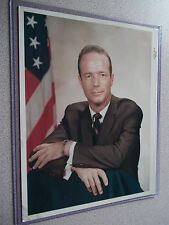 Scott Carpenter Early Vintage Red #rd Portrait on Kodak Paper