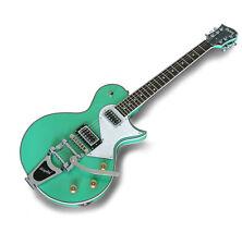 Fernandes Burny LS Vintage Electric Guitar w/Bigsby Sea Foam Green