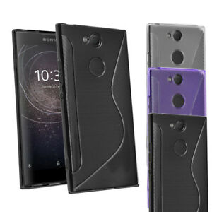 Sony Xperia XA2 Case - Grip Wave Gel Case Skin Cover For