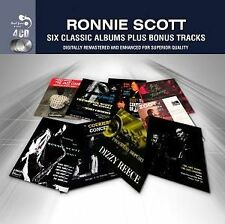 RONNIE SCOTT - 6 Classic Albums PLUS (4 CD) NEW  & SEALED (from UK)