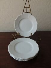 Seltmann Weiden Bread & Butter Plates Theresia White Germany Porcelain