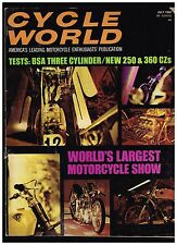 CYCLE WORLD JULY 1969 SEE CONTENTS PAGE IN SECOND PHOTO