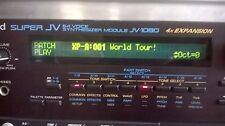 Roland JV1080 con la expansión del mundo