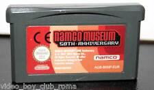 NAMCO MUSEUM 50TH ANNIVERSARY GIOCO USATO SOLO CARTUCCIA GAMEBOY ADVANCE UK FR1