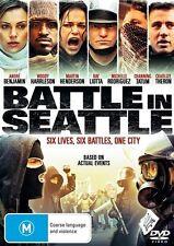 Battle In Seattle (DVD, 2009)*R4*Woody Harrelson*Terrific Condition*