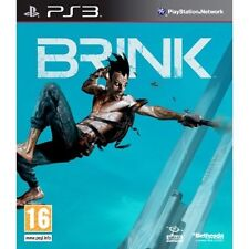 Brink PS3 PlayStation 3 Video Juego Perfecto estado UK release