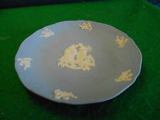 Beautiful Wedgwood Light Blue Jasperware Collector Plate-Christmas 1997