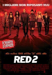 RED 2 DVD AZIONE -ex rental/noleggio