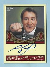 CAM NEELY 2011 GOODWIN CHAMPIONS SIGNATURE AUTOGRAPH AUTO