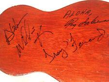 Autographed Hawaiian Ukulele legends Troy Fernandez Roy Sakuma Willie K Ohana