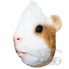 Latex Animal Mask Guinea Pig Head Cosplay Fancy Dress Novelty Masquerade Party