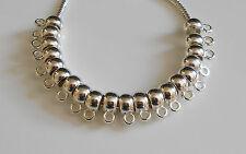 40 lisses Acrylique Caution Beads for European Charm Bracelet