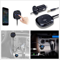Bluetooth AUX USB Charger Car Kit 3.5mm Adapter Handsfree Audio Music Receiver