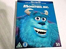 MONSTERS, INC. [Blu-ray 3D + Blu-ray Disc] Classic Disney Pixar Movie Slipcover