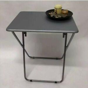 Coffee Table, Folding PVC Table Heavy Duty Reliable Steel Tube Legs Any Room Tab