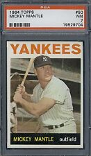 1964 Topps Mickey Mantle #50 PSA 7++  very high end