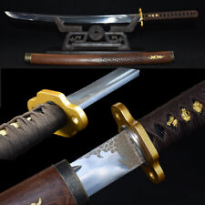 Hand Polishing Sharp Swordsman Battle Sword High manganese steel Blade #1362