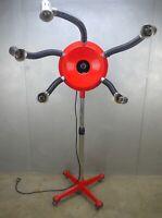 RED Post MODERN Memphis FRAMESI Heat FLOOR Lamp ITALY Milano MEDUSA Salon POP
