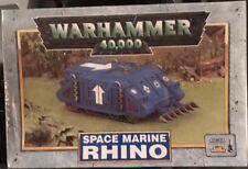 Warhammer 40K SPACE MARINE Rhino OOP 3rd. Edition MINT NEW NIB