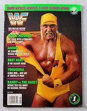 Hulk Hogan May 1993 WWF Wrestling Magazine Bret Hart Yokozuna Wrestler WWE Randy