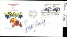 Bobby Unser Jsa Authenticated Signed Fdc Autograph