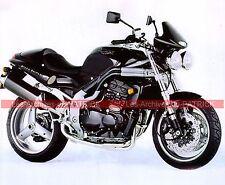 TRIUMPH T509 900 Speed Triple  (885 T 509 ) 1997 Fiche Moto 000046