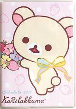 San-X Rilakkuma Korilakkuma Diary Planner Notebook Wide Size Schedule Book