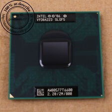 Intel Core 2 Duo T6600 - 2.2 GHz (AW80577GG0492MA) SLGF5 CPU Processor 800 MHz