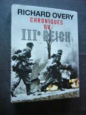 GUERRE 1939 45  CHRONIQUES DU IIIe REICH   Ouvrage Neuf