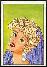 Barbie #5 Mattel 1989 Panini Sticker (C858)