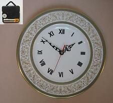 "Minton ""Aragon"" 10.75"" Wall Hanging Plate CLOCK"
