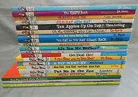 20 hardcover kids picture books DR SEUSS & beginner readers lot the grinch