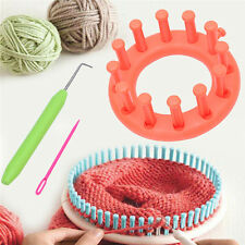 Bloom Loom Knitter Set Knitting Flower Loom Make Embellishments For Hat Scarves