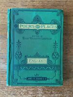 Poems of Places England Vol. 1 by Henry Wadsworth Longfellow(1877)