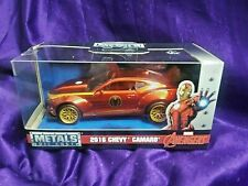 Marvel Avengers 2016 Chevy Camaro Jada Metals Diecast 1:32 Scale Ages 8 & Up New